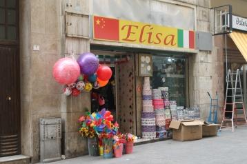 Winkeltjes zijn gesloten tijdens de Siësta